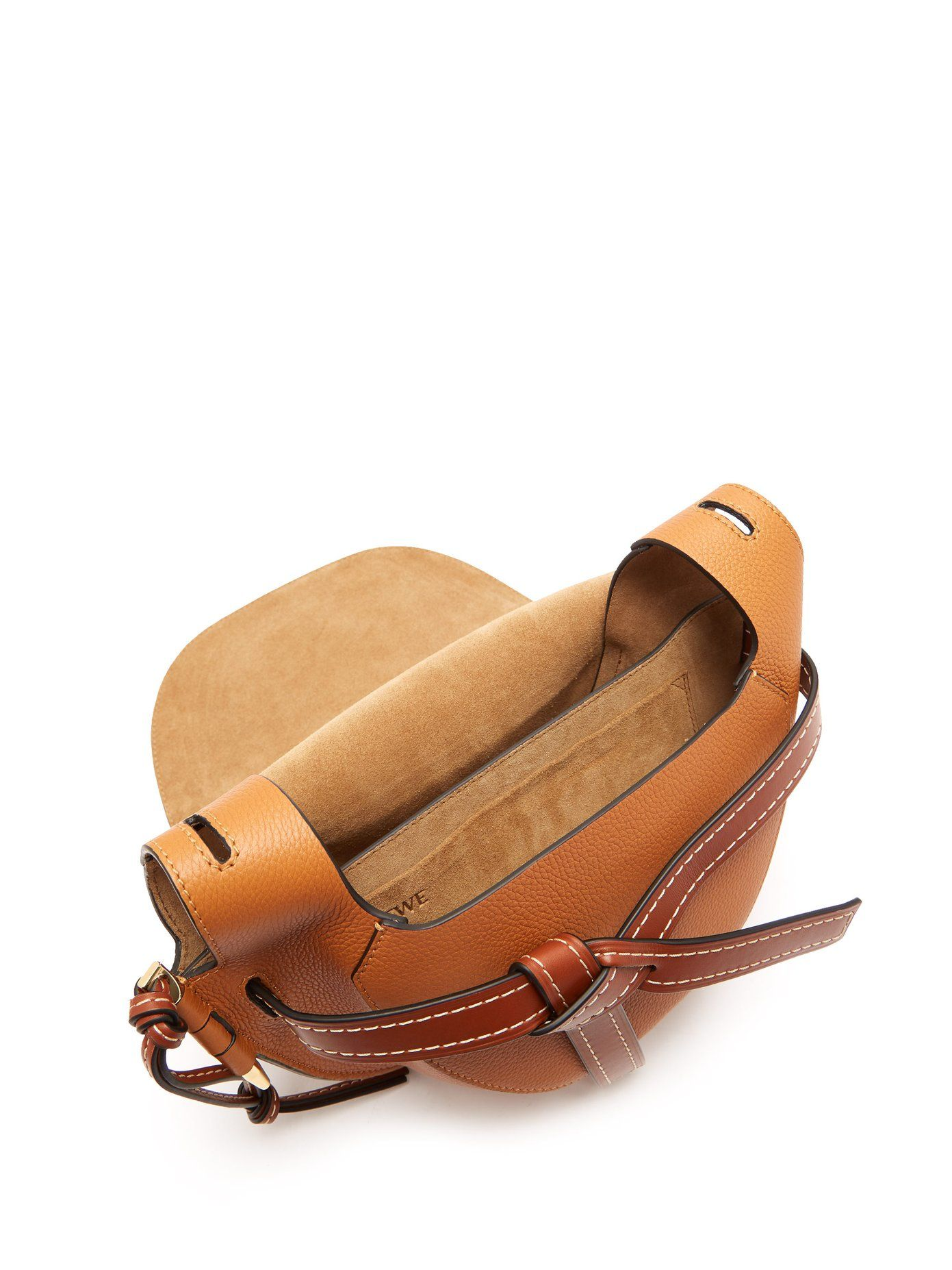 9a204351b3a Gate small grained-leather cross-body bag | Loewe | MATCHESFASHION ...