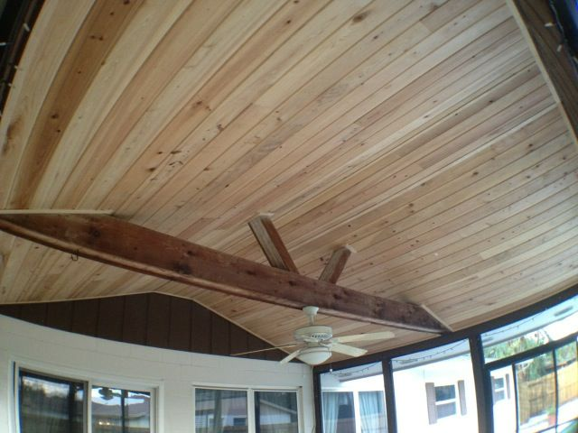Tongue Groove Cypress Patio Tongue And Groove Ceiling Tongue And Groove Ceiling Remodel