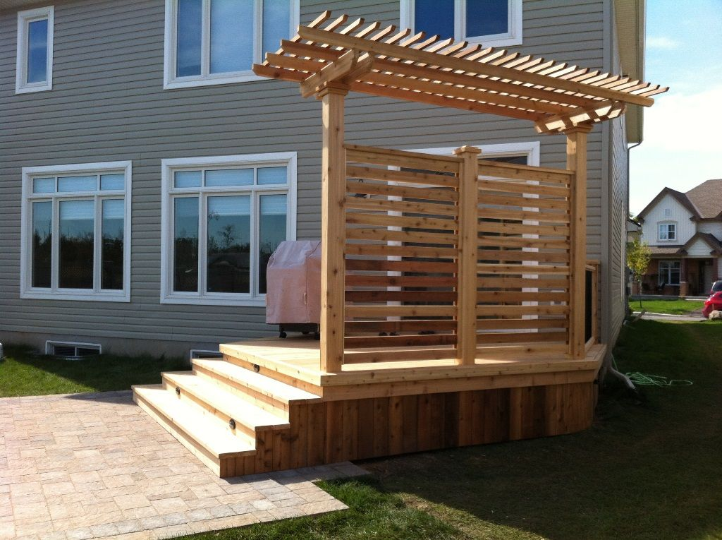 Wonderful Deck And Patio Handrails | Total Deck | Quality Wood Decks | Deck Builders  | Decks