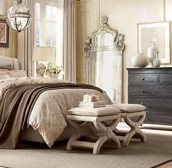 Bedroom Decorating Ideas With Black Furniture Upholstered Bedroom Bench Seat Bedroom Paint Ideas For Toddlers Fabric On Ceiling Bedroom: Annecy Metal-Wrapped 5-Drawer Dresser In 2019