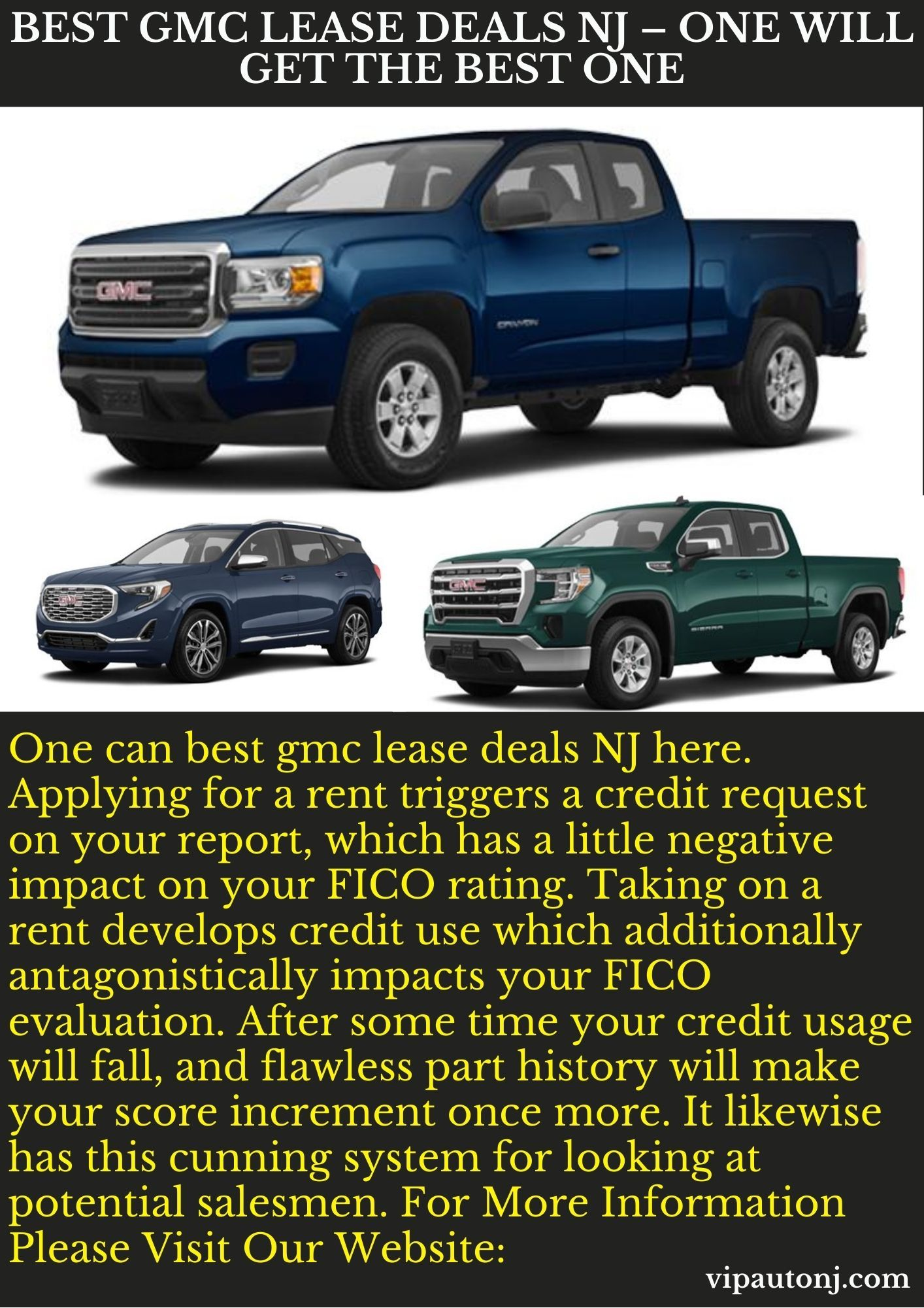 Best Gmc Lease Deals Nj One Will Get The Best One In 2020 Lease Deals Lease Gmc