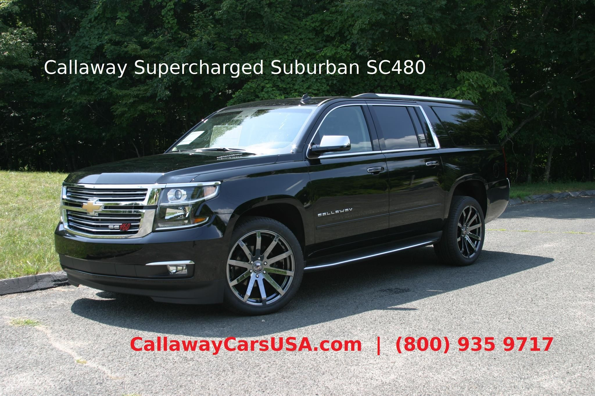 Callawaycarsusa Sells Supercharged Chevrolet Suburban Sc480 Which