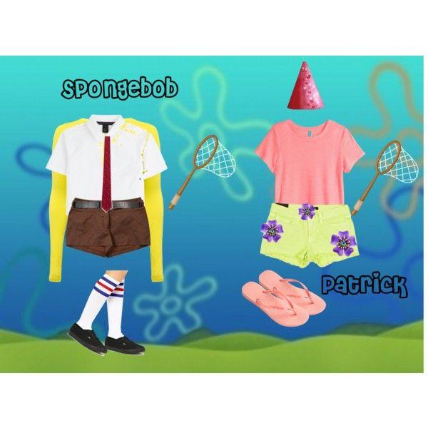 spongebob and patrick halloween costumes pinterest