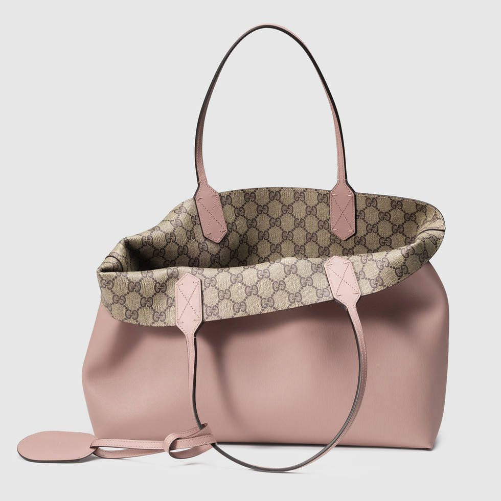 8ac9ec5fbc6830 Gucci Reversible GG leather tote Detail 2 | Favourite G in 2019 ...