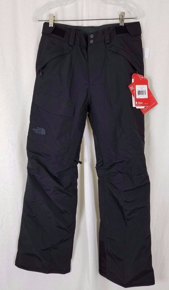 North Face Freedom Pants Black Insulated Snow Ski Snowboard Mens S Ski Pants Tnf Northface Skipants Pantalones