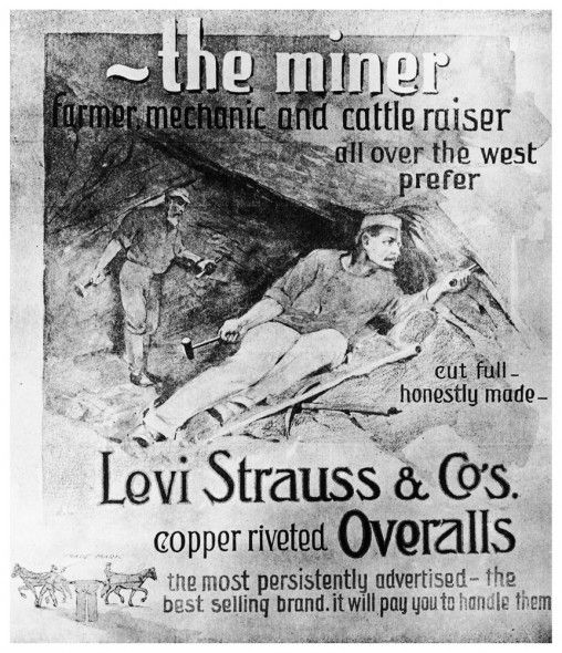 65d43862 The Gold Rush and Levi's: Gold was discovered in California in 1848. Levi  Strauss