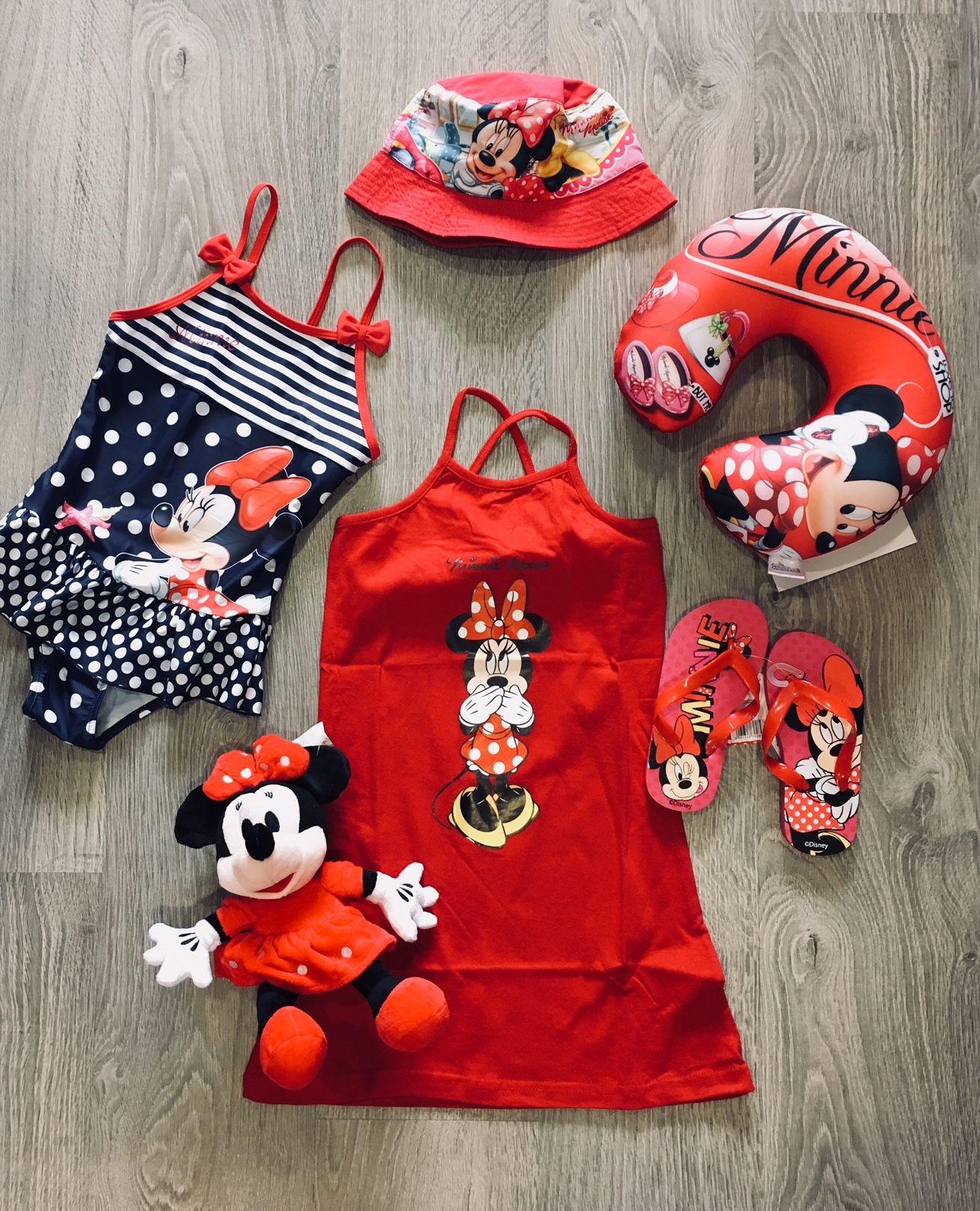 241fc0ffc9fa úžastné dievčenské šaty Minnie mouse