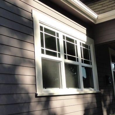 Image result for cool exterior window trim ideas poop pinterest exterior craftsman style for Exterior window trim craftsman style