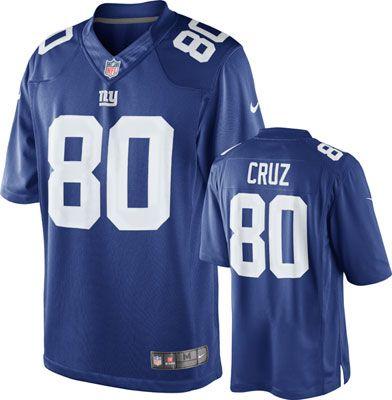 09fb4c5df7d ... amazon nike new york giants victor cruz game team color jersey 30a4e  ebf29