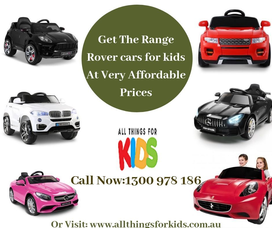 Allow Your Kids The Freedom To Ride Their Own Range Rover In Their Desirable Model All Things For Kids Range Rover Kids Car Toy Cars For Kids Range Rover Car
