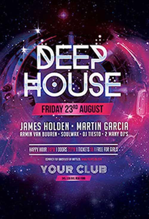 Deep house free psd flyer template mmmmm pinterest free psd party flyer template free deep house party flyer template by stylewish on deviantart saigontimesfo