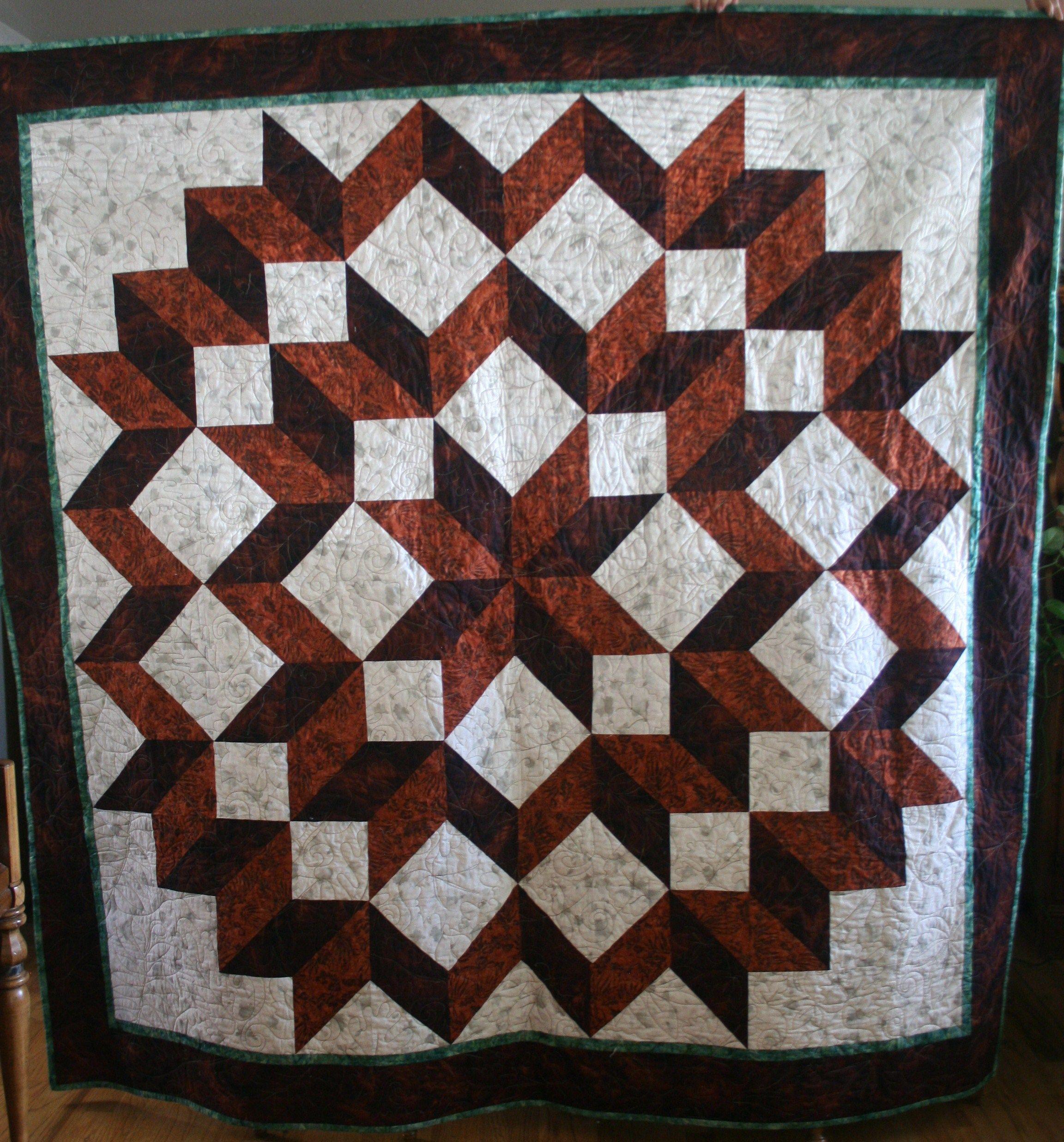 Carpenter's Star | Quilt patterns free, Star quilt patterns and ... : free star quilt patterns - Adamdwight.com