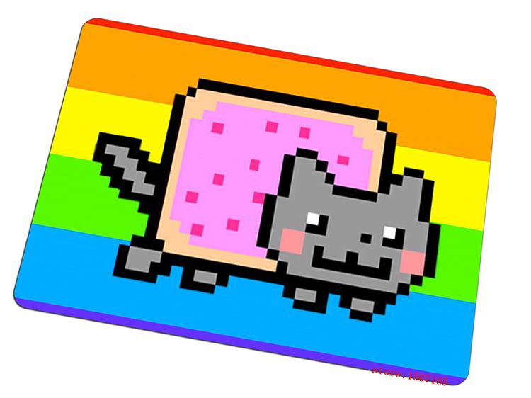 nyan cat mouse pad 2016 new gaming mousepad cool gamer mouse mat pad game computer desk padmouse keyboard large play mats