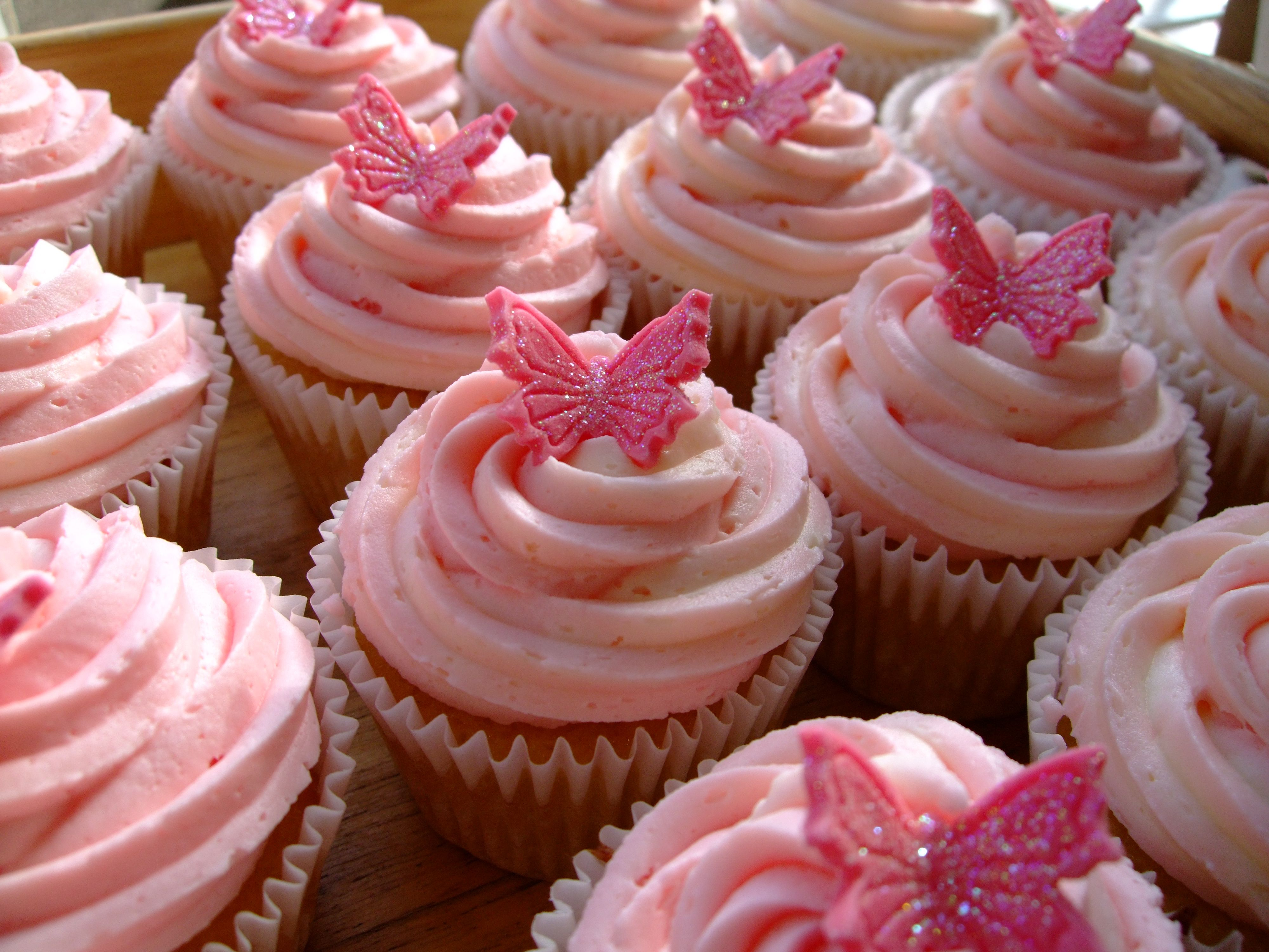 Butterfly Cupcake Images : cupcakes Beautiful Butterfly Cupcakes Wises Farm ...