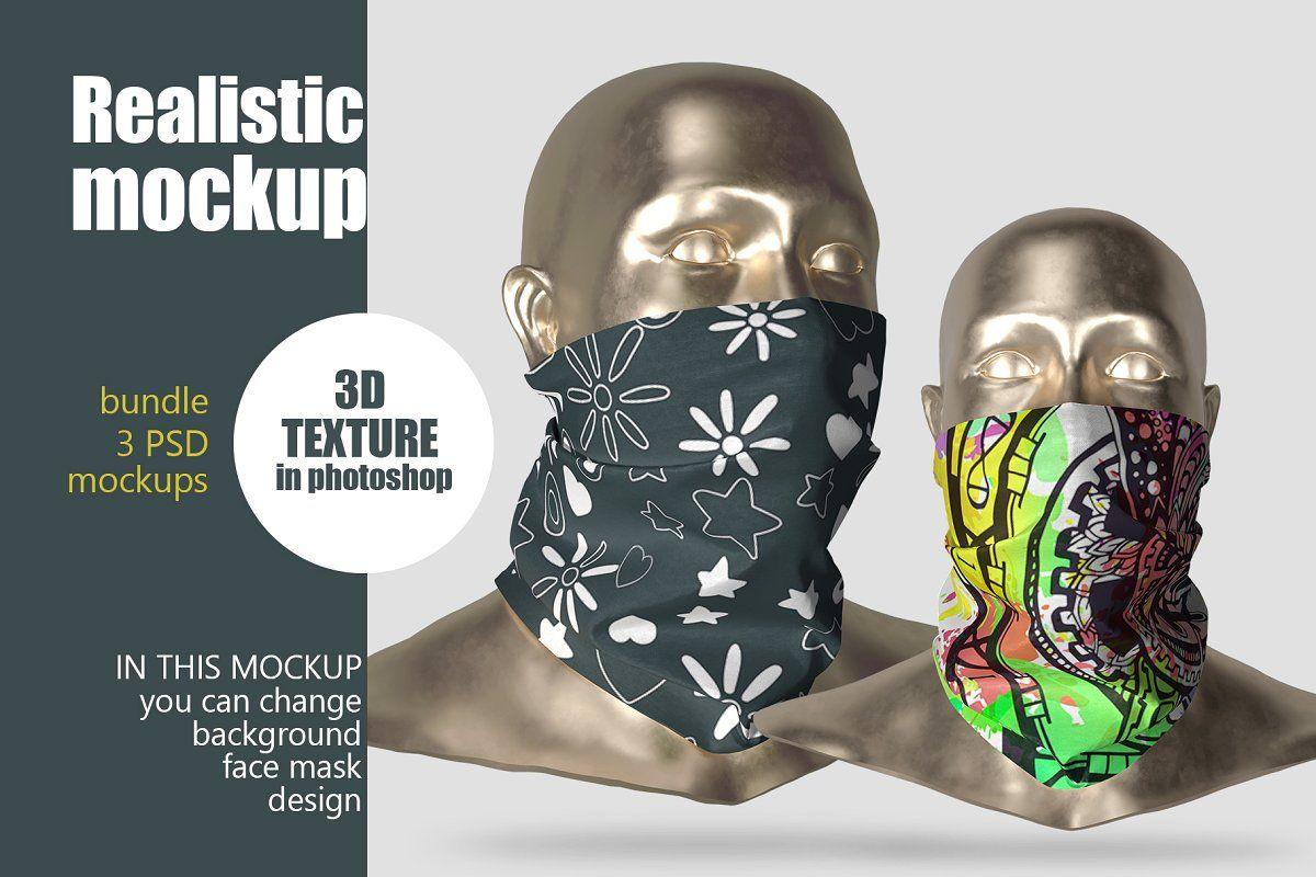 Download Face Mask Mockup 3 Face Mask Mockup Face