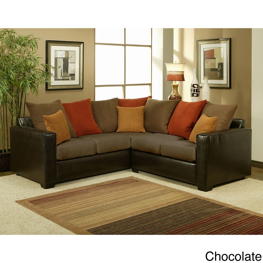 Bailey piece suede sectional sofa like color scheme comfy sofa