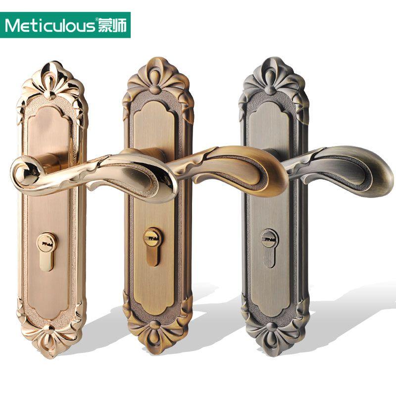 Meticulous Interior Door Lock Gate Lockset Security Entry Mortise