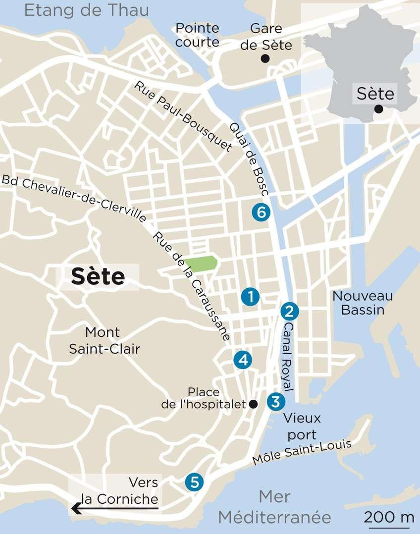 Deux jours à Sète, la bouillonnante   Visiter sete, Saint louis et Vieux port