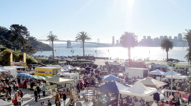 #San Francisco#Treasure Island Flea!