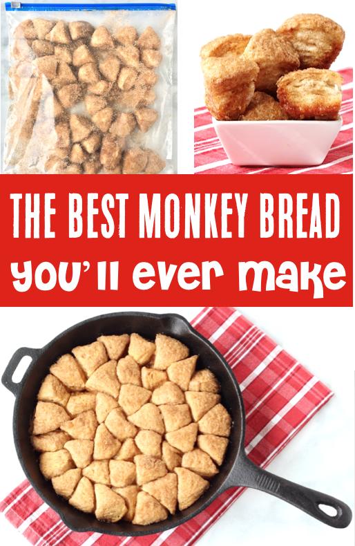 Skillet Monkey Bread Recipe! {Just 5 Ingredients}