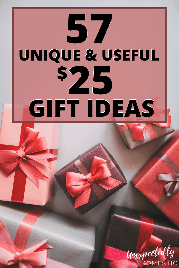 57 Creative Unique Gift Ideas Under 25 That People Will Love Elephant Gifts Unisex Christmas Gifts Best White Elephant Gifts
