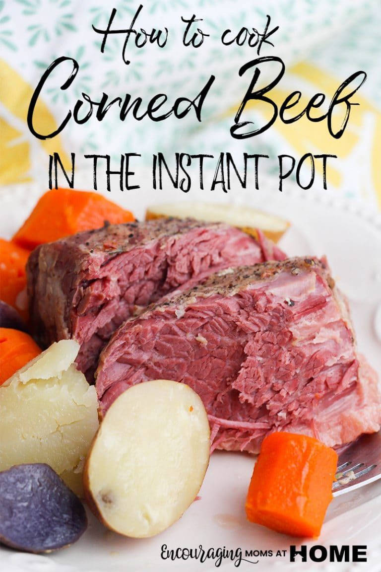 Instant Pot Corned Beef and Cabbage Recipe Cooking