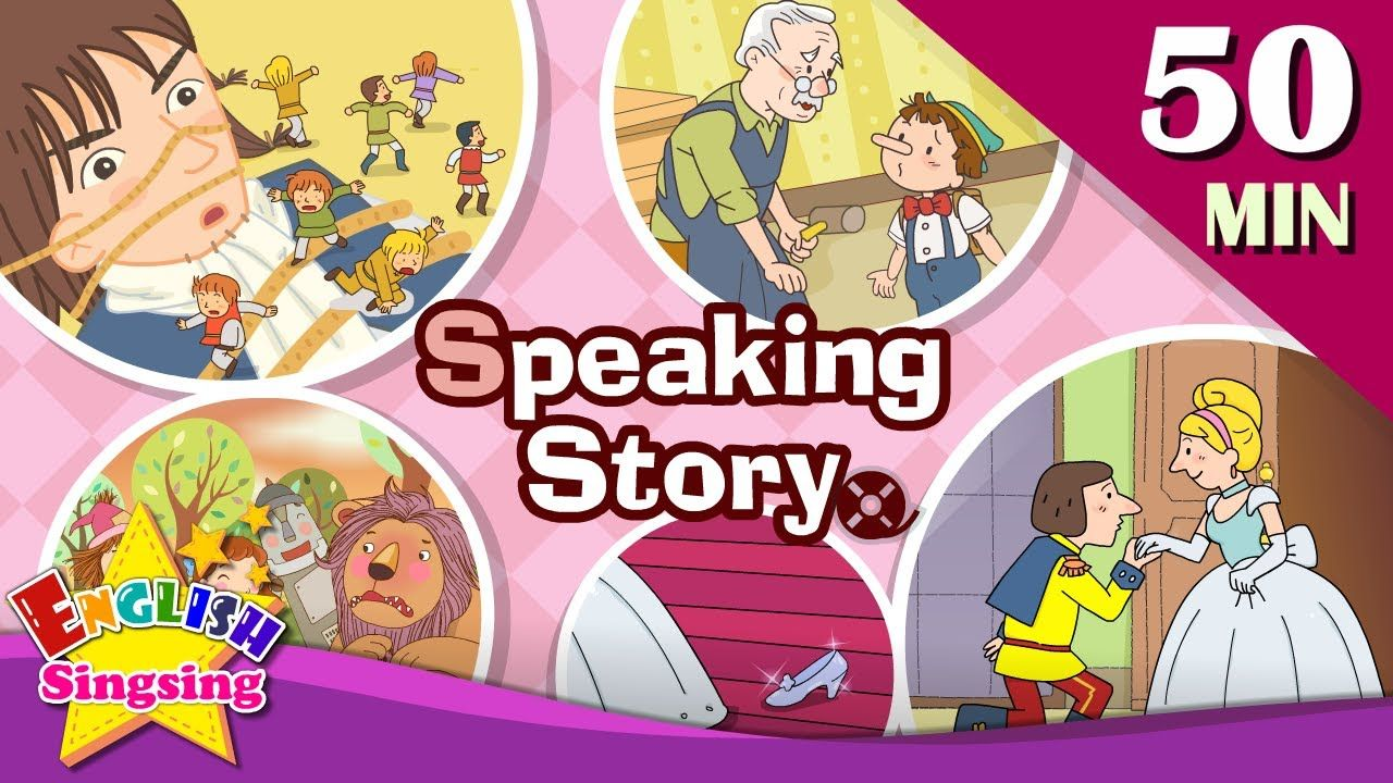 Speaking Story 50 Minutes Kids Cartoon Dialogues Easy Conversation Learn English For Kids Yout Learning English For Kids Learn English Stories For Kids