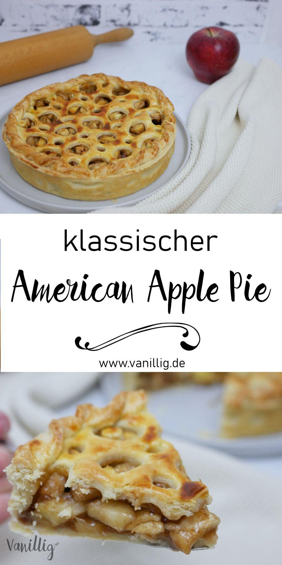 Klassicher American Apple Pie