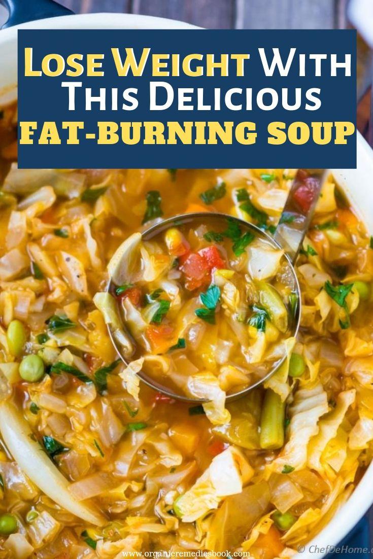 Fat burning soup recipe book