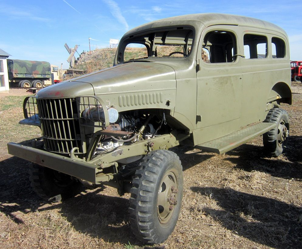 Dodge trucks in wwii - Wwii Dodge Power Wagon Troop Carrier