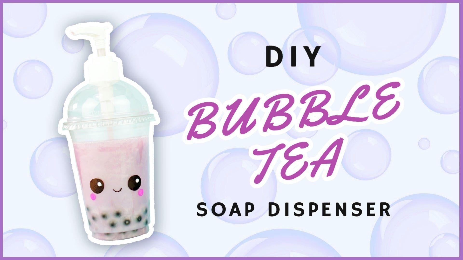 DIY Bubble Tea Soap Dispenser | DIY Kawaii Bubble Tea hand Soap | Recycled Crafts