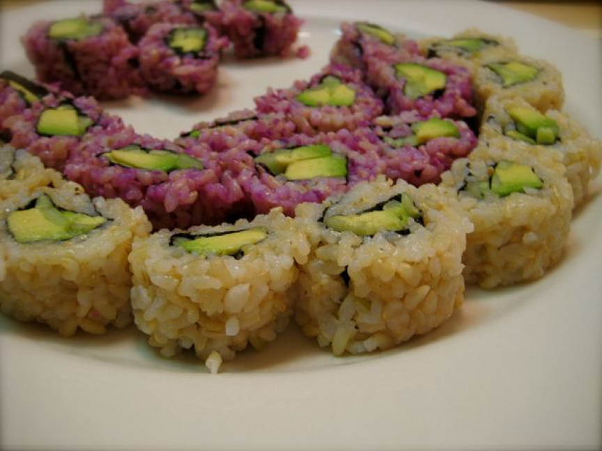 Sushi without seaweed Sushi without seaweed, Food, Vegan