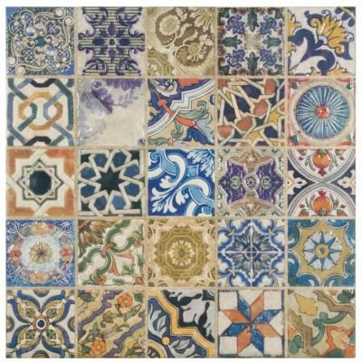 Tiles And Decor Merola Tile Avila Arenal Decor 1212 Inx 1212 Inceramic