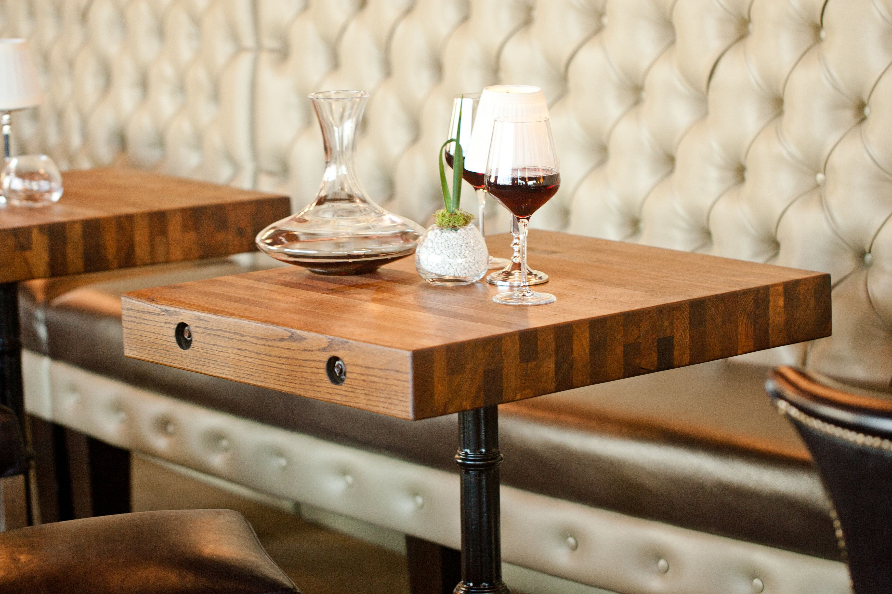 This Is A Reclaimed Oak Edge Grain Dining Tables That We Did For The Restaurant Called Number 13 In Galves