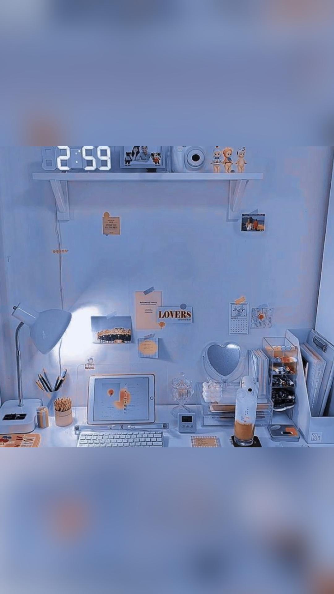 Light Blue Aesthetic Backgrounds/Wallpaper