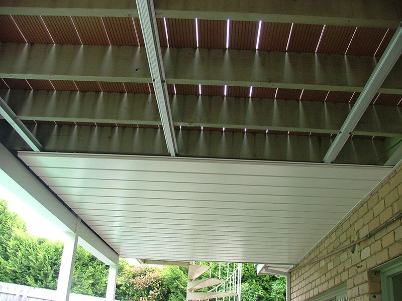 Waterproof Under Deck With Underdeck Building A Deck