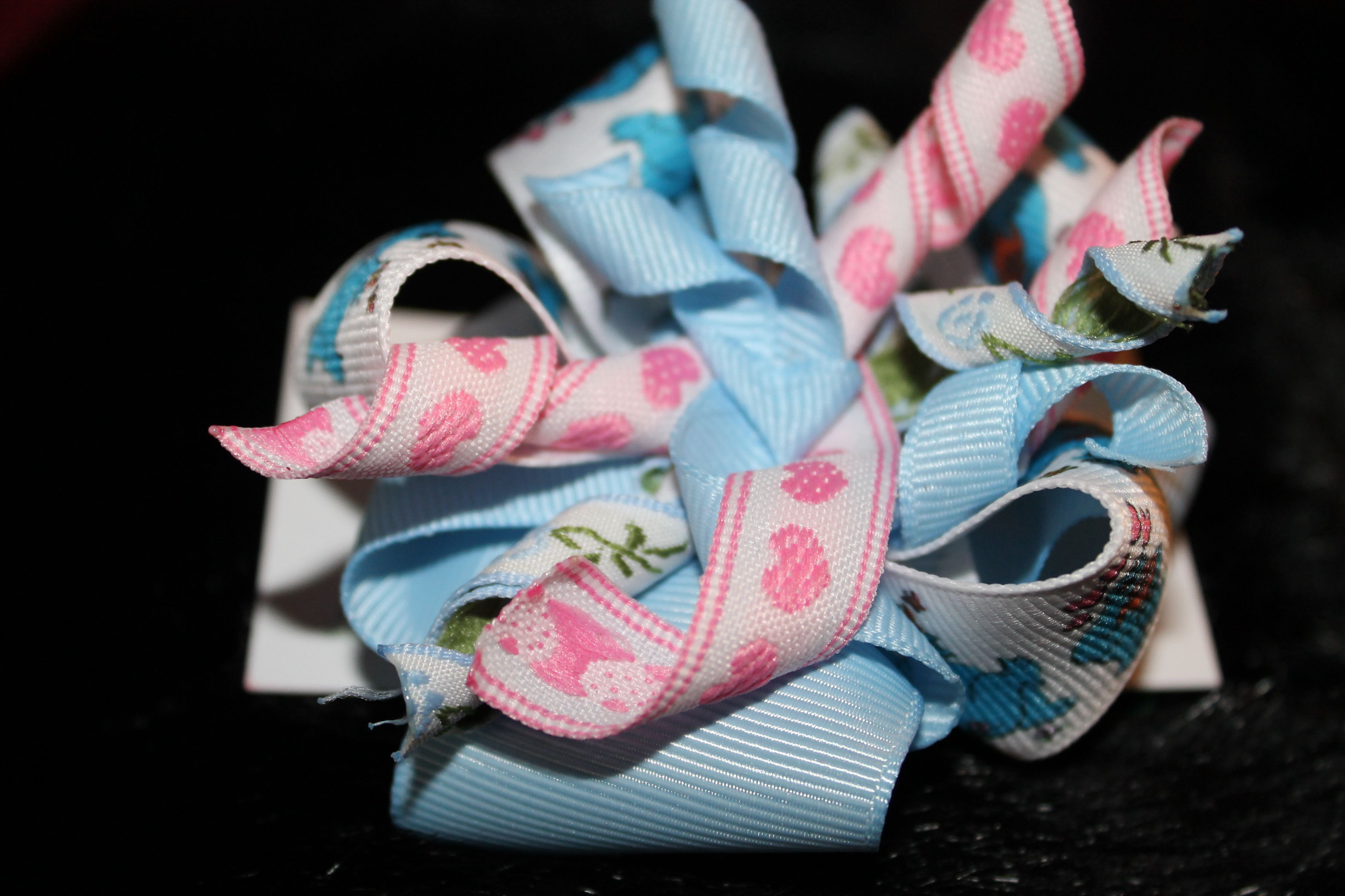 I Love Cookie Monster bow-$5