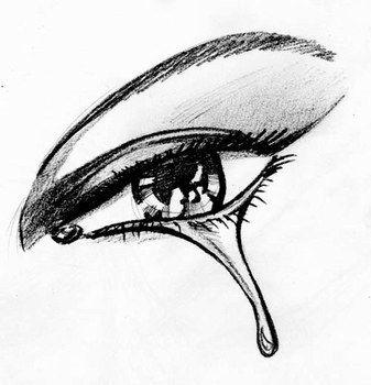 comment dessiner des yeux qui pleurent projets essayer. Black Bedroom Furniture Sets. Home Design Ideas