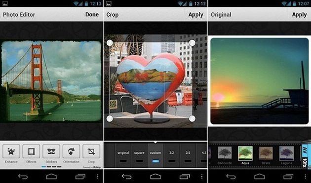 Map for Android Apps Snapseed; A Free Photo Editor App