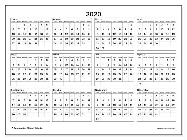 Calendario 2020 2020 Para Imprimir.List Of Pinterest 2020 Calendario Pictures Pinterest 2020