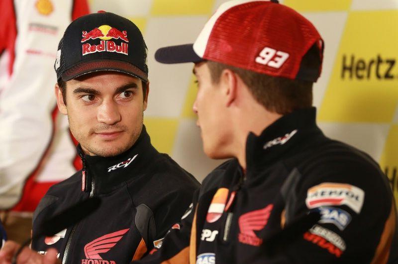 Pedrosa and Marquez, British MotoGP 2014