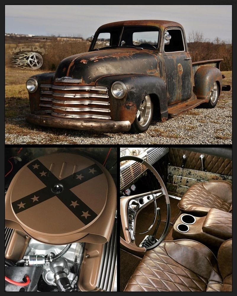 1947 Chevrolet C 10 Patina Pro Touring Restomod Hotrod 3100 Pickup