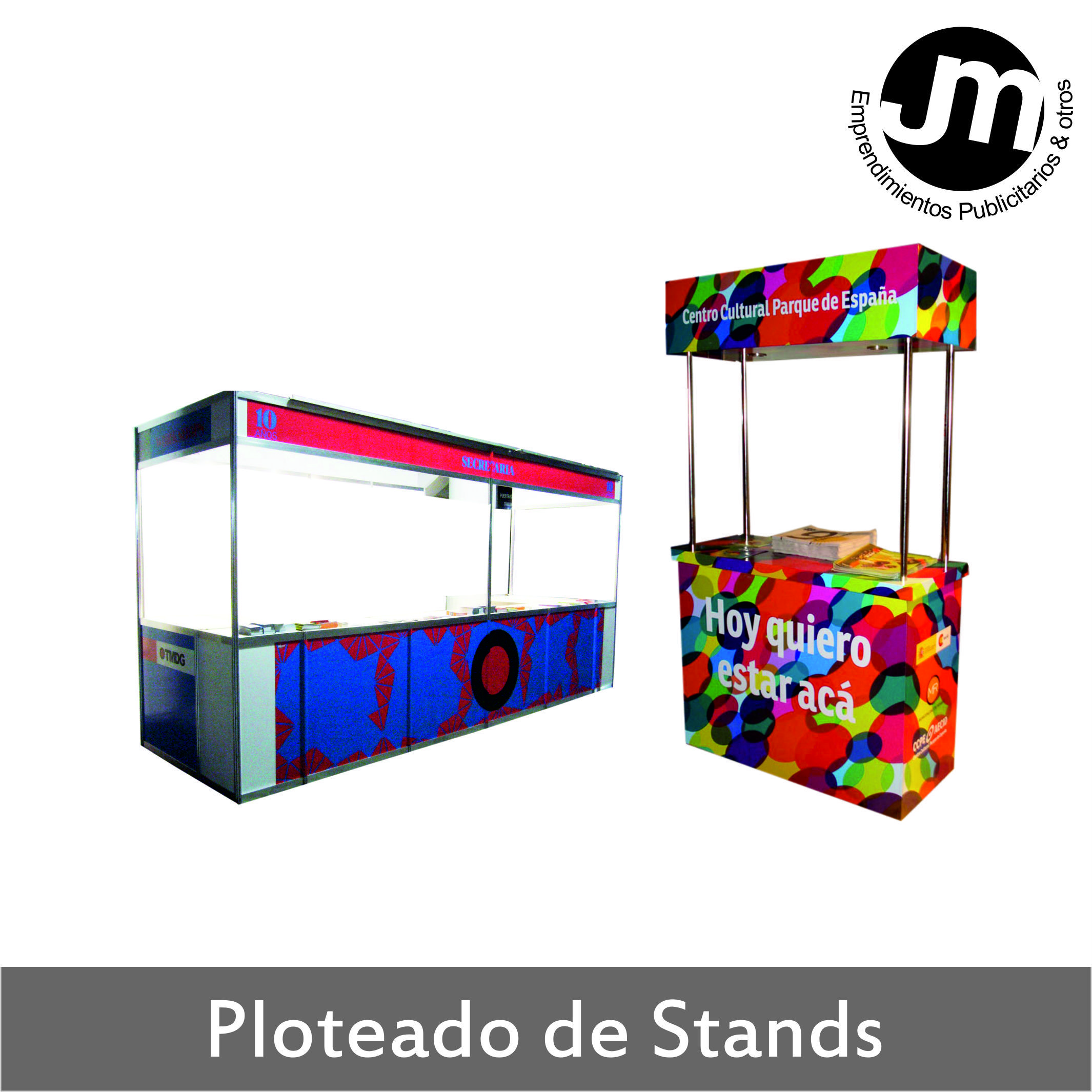 Ploteado de Stands