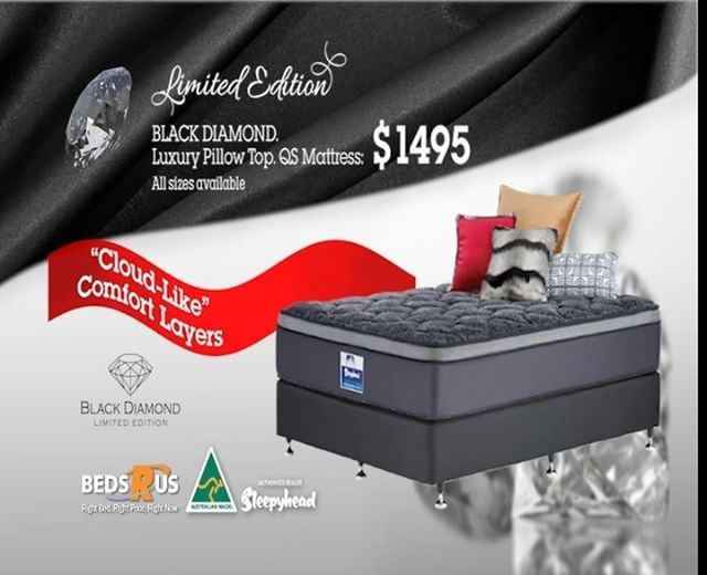 Luxury Mattress Black Diamond