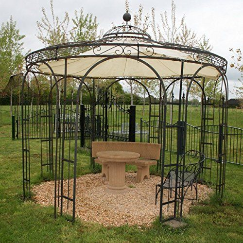 pavillon gartenpavillon pavillon metall gartenlaube. Black Bedroom Furniture Sets. Home Design Ideas
