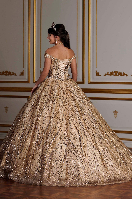 Quinceanera Collection 26937 Novelty Glitter Ball Gown In 2021 Victorian Ball Gowns Victorian Ball Dress Vintage Ball Gowns [ 3000 x 2000 Pixel ]