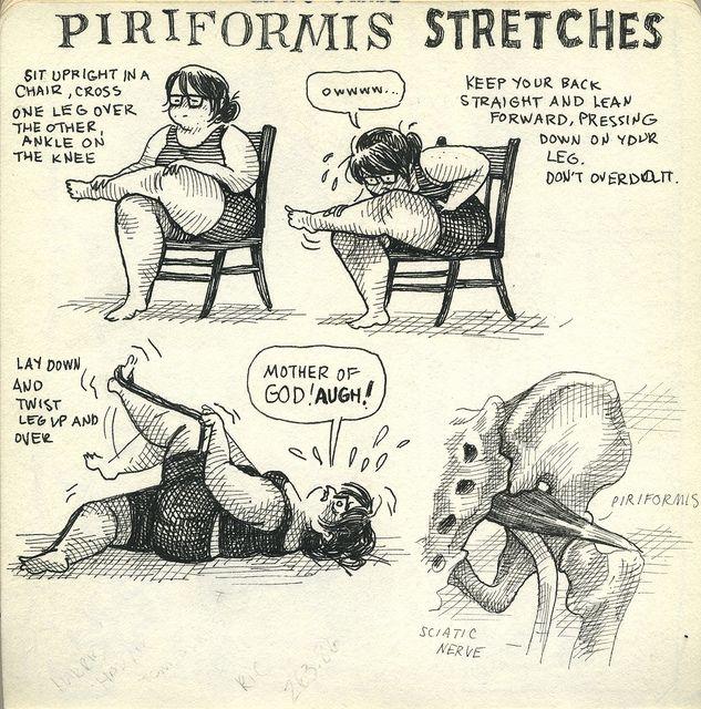 Let's Do Piriformis Stretches! - A