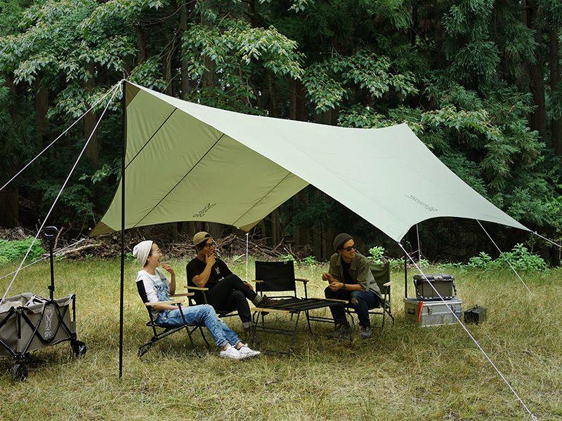 いつかのタープ カーキ Tt5 631 Kh タープ アウトドア キャンプ