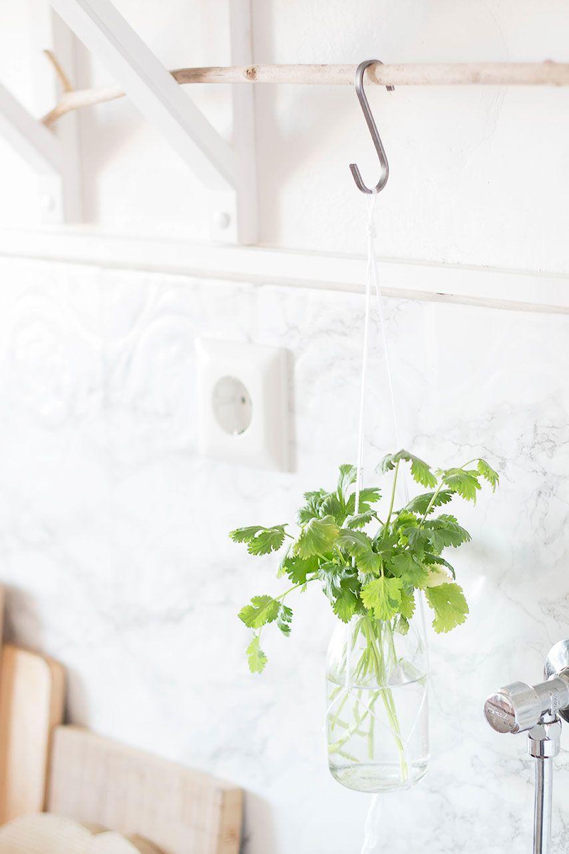 Kitchen Greens und ein kleines Küchen-Makeover | DIY interior ...