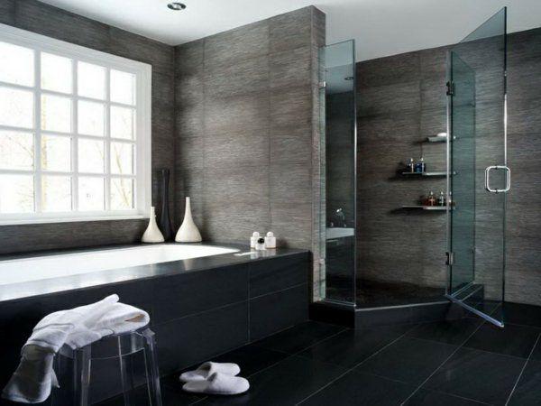 bad modern gestalten mit licht_modernes badezimmer mit eingebauten